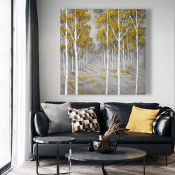 Canvas 48 x 48 - Birch forest