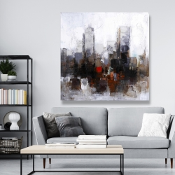 Canvas 48 x 48 - Obscure city