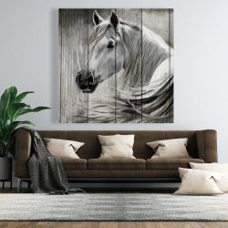 Canvas 48 x 48 - Rustic horse