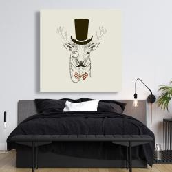 Canvas 48 x 48 - Aristocrat roe deer