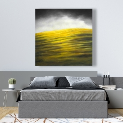 Canvas 48 x 48 - Yellow hill