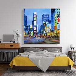 Canvas 48 x 48 - Cityscape in times square