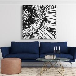 Canvas 48 x 48 - Gerbera flower