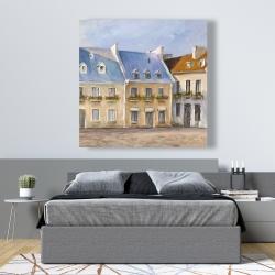 Canvas 48 x 48 - Old quebec city