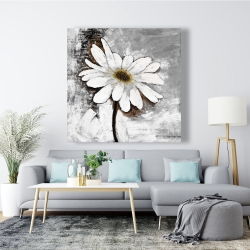 Canvas 48 x 48 - Abstract daisy