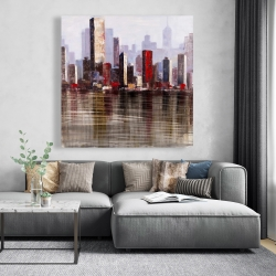 Canvas 48 x 48 - Industrial city style