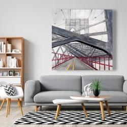 Canvas 48 x 48 - Under the brooklyn bridge