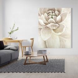 Canvas 48 x 60 - Delicate chrysanthemum