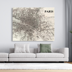 Canvas 48 x 60 - Paris 1