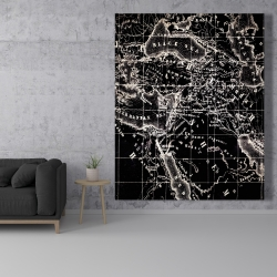 Canvas 48 x 60 - Old maritime maps