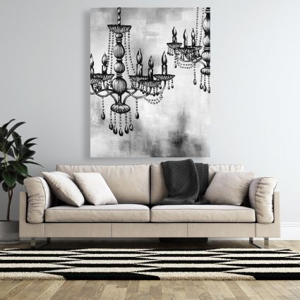 Two crystal chandeliers 2
