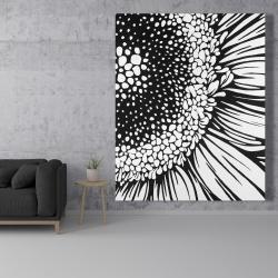 Canvas 48 x 60 - Gerbera flower