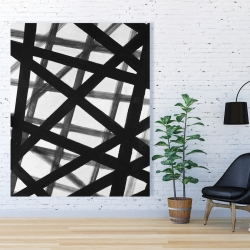 Canvas 48 x 60 - Abstract bold lines