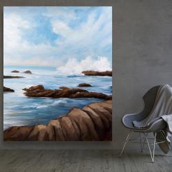 Canvas 48 x 60 - Seaside storm