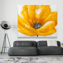Canvas 48 x 60 - Beautiful yellow flower