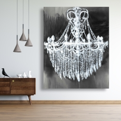 Canvas 48 x 60 - Big glam chandelier
