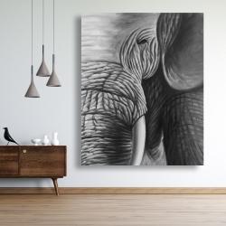 Canvas 48 x 60 - Elephant