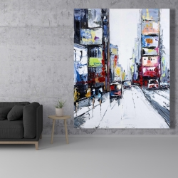 Canvas 48 x 60 - Time square