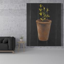 Canvas 48 x 60 - Plant of marjolaine