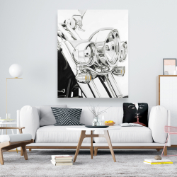 Canvas 48 x 60 - Motorcycle light