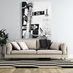 Canvas 48 x 60 - New york city street signs