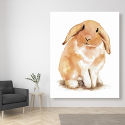 Canvas 48 x 60 - Lop-rabbit