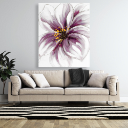 Canvas 48 x 60 - Purple orchid