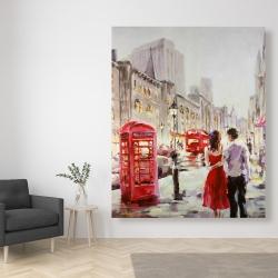 Canvas 48 x 60 - Couple walking