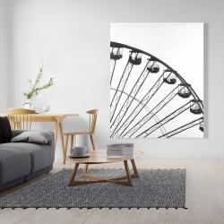 Canvas 48 x 60 - Quarter of a ferris wheel