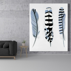 Canvas 48 x 60 - Delicate feathers