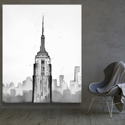 Canvas 48 x 60 - Empire state building