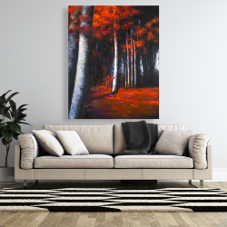 Canvas 48 x 60 - Mysterious forest
