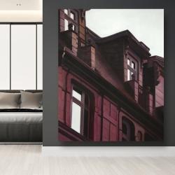 Canvas 48 x 60 - Architectural building
