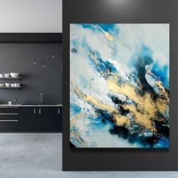 Canvas 48 x 60 - Blue marble