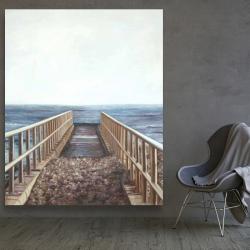 Canvas 48 x 60 - Relaxing beach