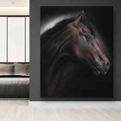 Canvas 48 x 60 - Loneliness horse