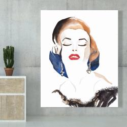Canvas 48 x 60 - Vintage chic maryline monroe
