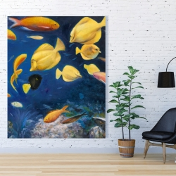 Canvas 48 x 60 - Fish under the sea