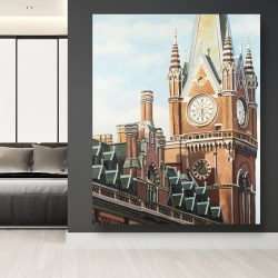 Canvas 48 x 60 - St-pancras station in london