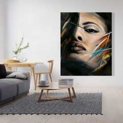 Canvas 48 x 60 - Abstract woman portrait