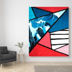 Canvas 48 x 60 - Diagonal unity