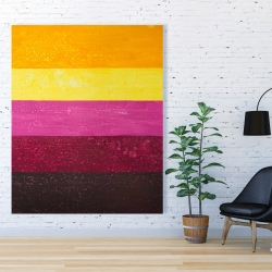 Canvas 48 x 60 - Live stripes