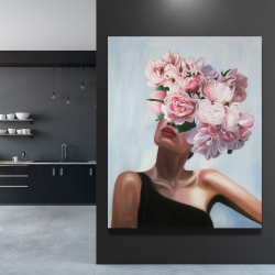 Canvas 48 x 60 - See life in flowers