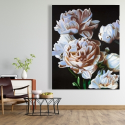 Canvas 48 x 60 - Peonies