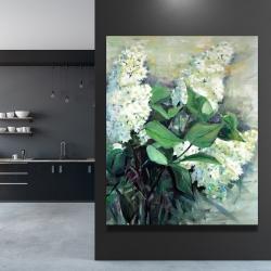 Canvas 48 x 60 - White lilacs
