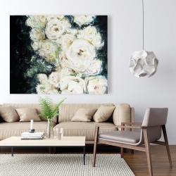 Canvas 48 x 60 - Garden roses