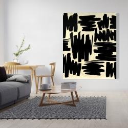 Canvas 48 x 60 - Deconstructed stripes