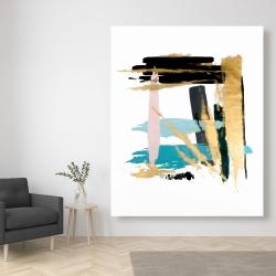 Canvas 48 x 60 - Pastel stroke