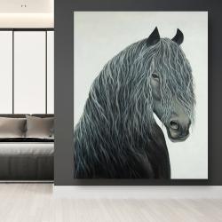 Canvas 48 x 60 - Wild heart