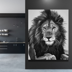 Canvas 48 x 60 - The lion king